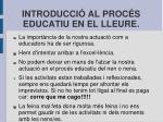 introducci al proc s educatiu en el lleure