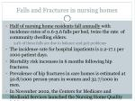 falls and fractures in nursing homes