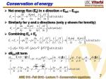 conservation of energy1