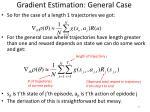 gradient estimation general case