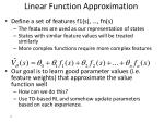 linear function approximation1