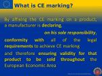 what is ce marking1