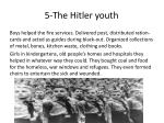 5 the hitler youth