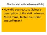 the first visit with jefferson 67 74