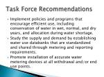 task force recommendations1