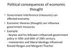 political consequences of economic thought