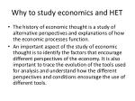 why to study economics and het1