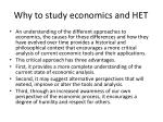 why to study economics and het2