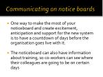 communicating on notice boards1