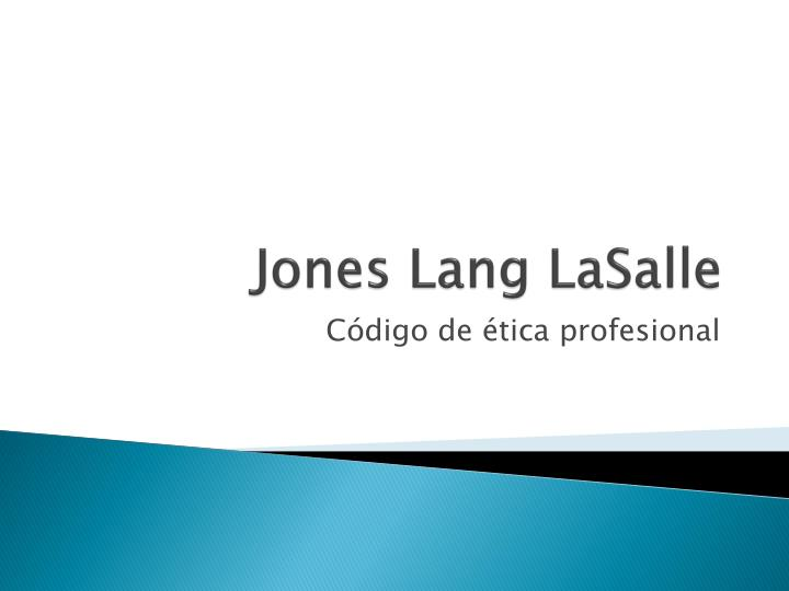 jones lang lasalle n.