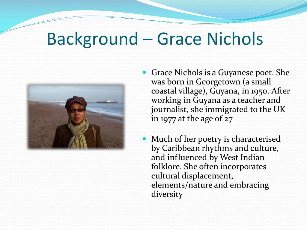 Ppt Praise Song For My Mother Powerpoint Presentation