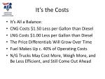 it s the costs