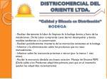 districomercial del oriente ltda calidad y eficacia en distribuci n9