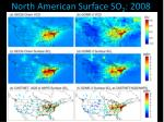 north american surface so 2 2008