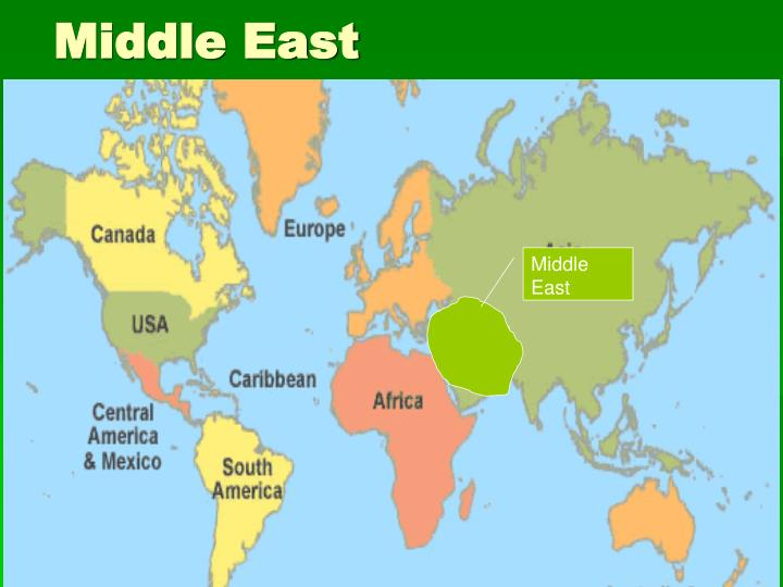 middle east n.