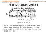 piece 2 a bach chorale