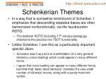 schenkerian themes1