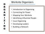 worksite organizers