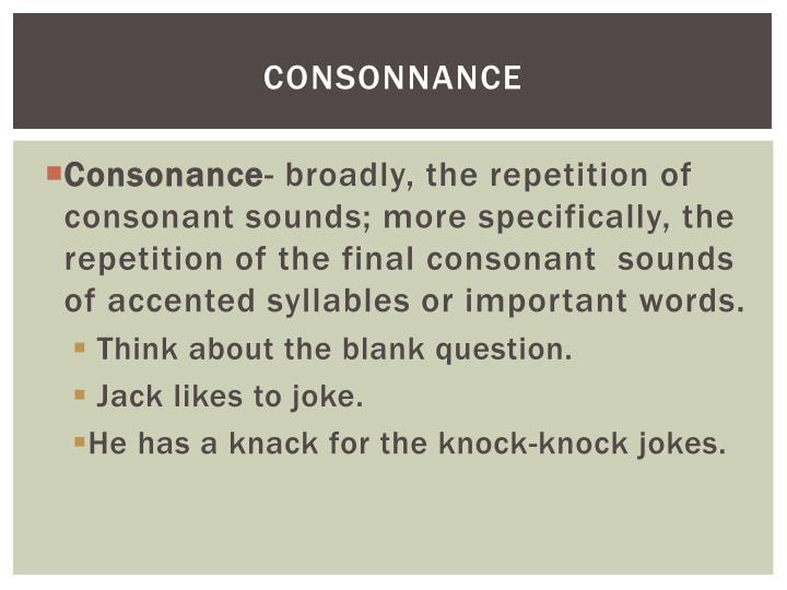 Consonnance