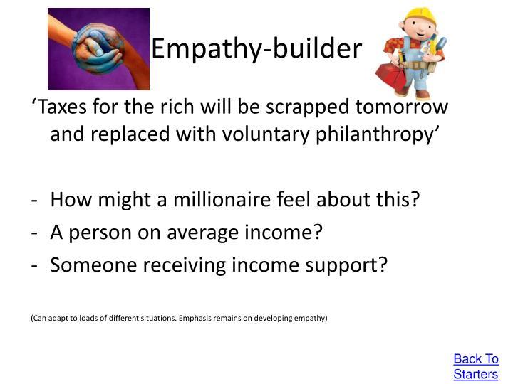 Empathy-builder