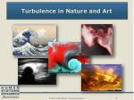 turbulence in nature and art