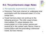 iii 2 the preharmonic stage nules10