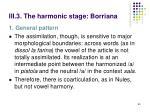 iii 3 the harmonic stage borriana2