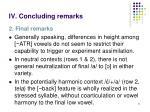 iv concluding remarks1