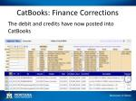 catbooks finance corrections2