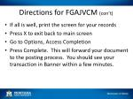 directions for fgajvcm con t4