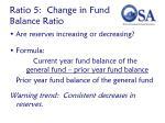 ratio 5 change in fund balance ratio