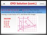 oyo solution cont
