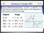 rotating a triangle 1802