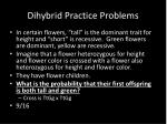 dihybrid practice problems3