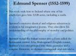 edmund spenser 1552 15991