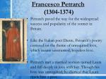 francesco petrarch 1304 1374