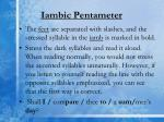 iambic pentameter1