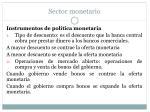 sector monetario19