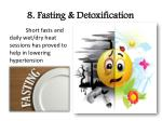 8 fasting detoxification