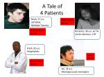 a tale of 4 patients
