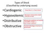 types of shock classified by underlying cause