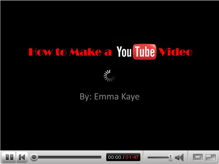 how to make a video n.