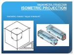 axonometric projection isometric projection