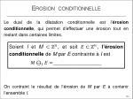 erosion conditionnelle1