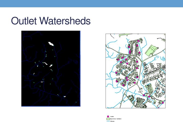 Outlet Watersheds
