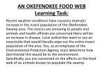 an okefenokee food web learning task1