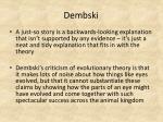 dembski