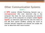 other communication systems cont1