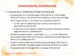 connectivity continued3
