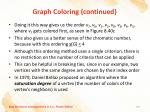 graph coloring continued6